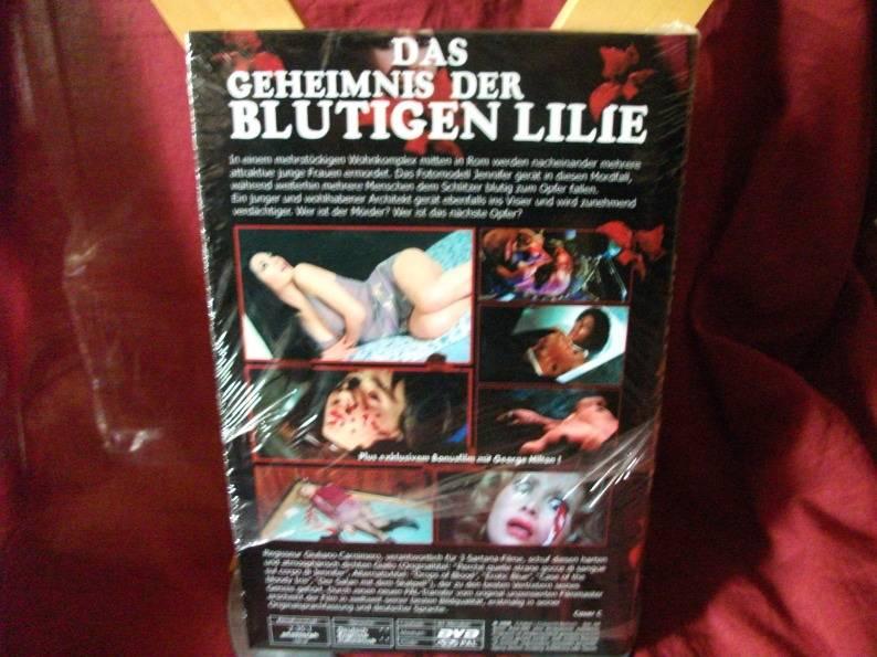 Das Geheimnis der blutigen Lilie Grosse HB Cover C Neu
