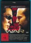 WAR DVD Jet Li, Jason Statham, John Lone NEUWERTIG
