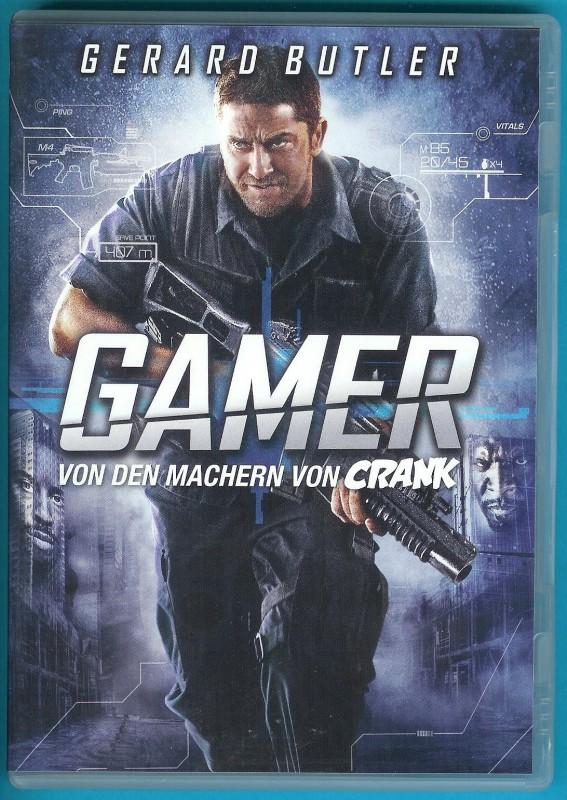 Gamer DVD Gerard Butler, Amber Valletta NEUWERTIG