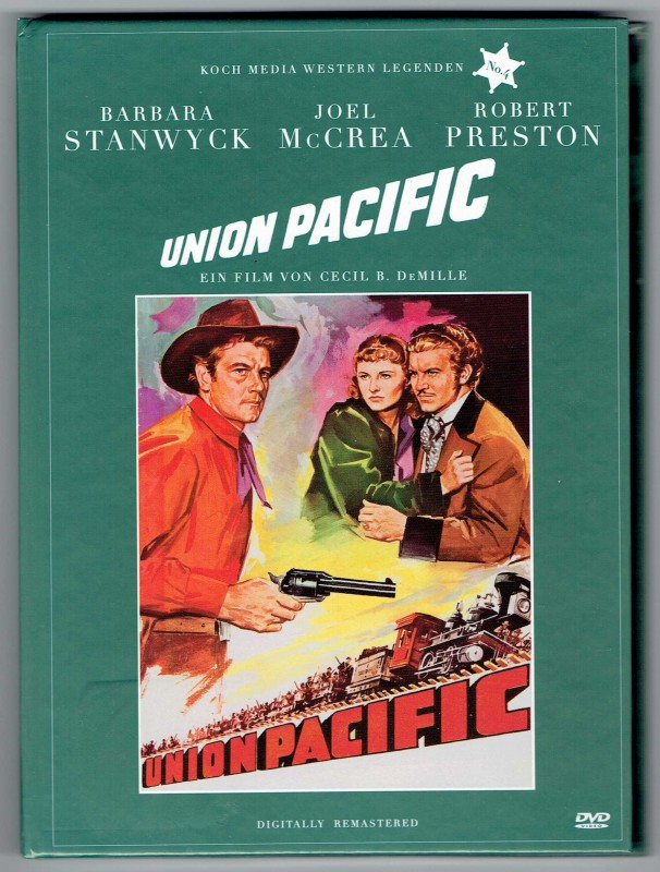 Union Pacific - Mediabook - Barbara Stanwyck