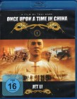 ONCE UPON A TIME IN CHINA Blu-ray Jet Li Tsui Hark Klassiker