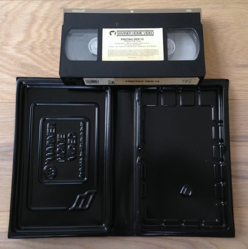 Freitag der 13. VHS von Warner / Friday the 13th