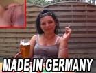 Junges Mädchen im Biergarten angesprochen und zu Hause befri