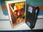 VHS - Trained to Kill - Henry Silva - Starlight