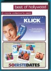 Best of Hollywood: Klick / 50 Erste Dates (2 DVDs) f. NEUW.