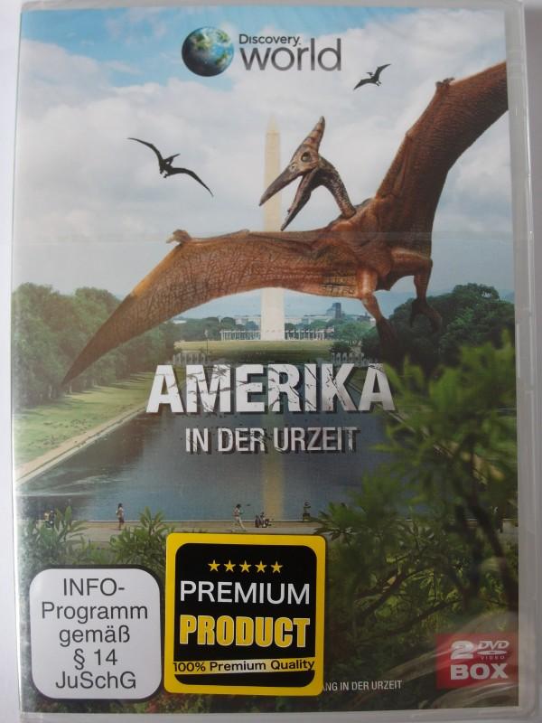 Amerika in der Urzeit - Dinosaurier der USA, T Rex, Mastodon
