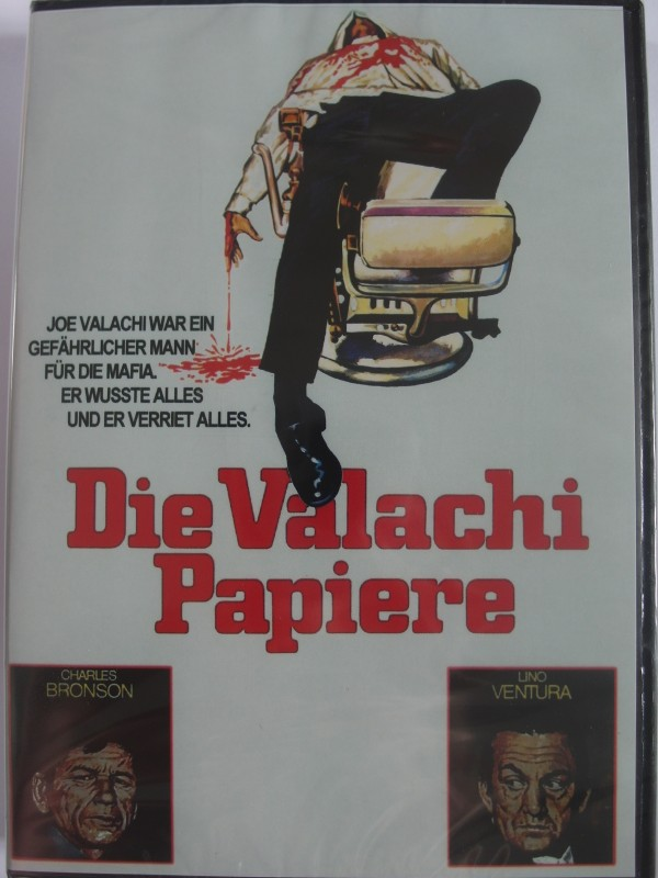 Die Valachi Papiere  Der Zeuge Charles Bronson, Lino Ventura