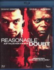 REASONABLE DOUBT Blu-ray - Samuel L. Jackson Dominic Cooper