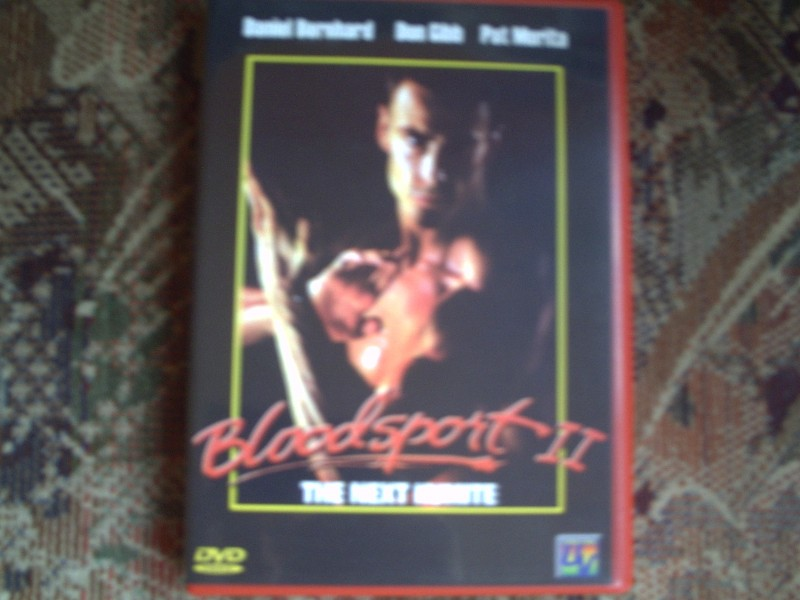 Bloodsport 2 - The Next Kumite - Daniel Bernhard - dvd
