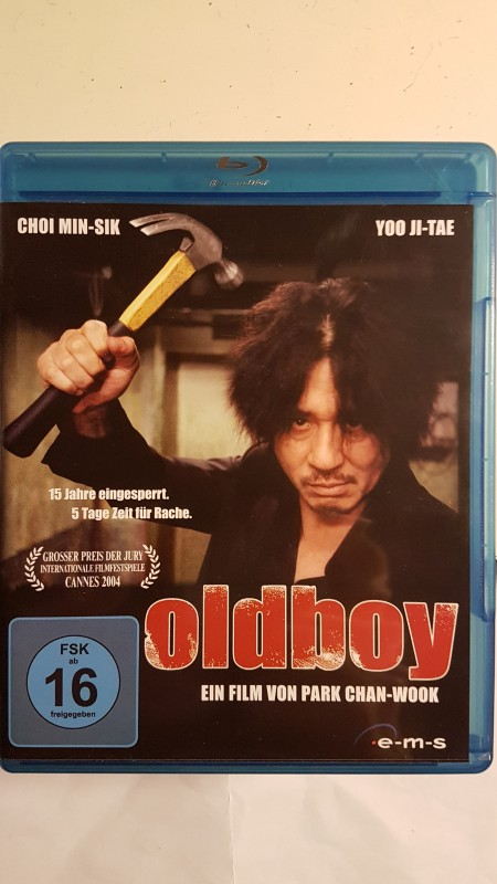 ++ OLDBOY ++ deutsche Blu Ray - lady vengeance - wook