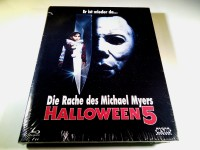 HALLOWEEN 5 - BLU-RAY HARTBOX - LIMITED150 - UNCUT - NEU&OVP