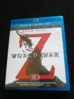 World War Z - 3D - Extended Action Cut/ 3 Disc Blu-Ray Set