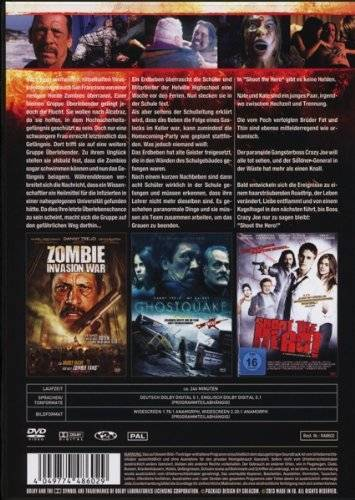 Danny Trejo Box (246 Minuten Action) DVD Gut