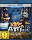 TOYS IN THE ATTIC Abenteuer auf dem Dachboden - 3D Blu-ray