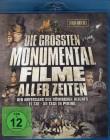 DIE GRÖSSTEN MONUMENTAL FILME ALLER ZEITEN 3x Blu-ray Box