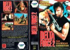 (VHS) Delta Force 2 -Chuck Norris, Billy Drago-uncut Version