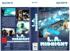 (VHS) L.A. Midnight - uncut Version - Sony - Große Box