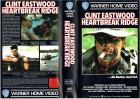 (VHS) Heartbreak Ridge - Clint Eastwood - uncut Version