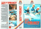 (VHS) Act of Piracy - Gary Busey - Ascot Video - Große Box