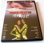 NAKED WEAPON - UNCUT HONGKONG DVD - ENGLISCH - MAGGIE Q