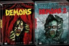 Demons 1+2 - Dämonen 1+2 - 2 x Mediabook - XT - lim. 1000