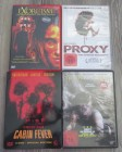 4 x DVD - Proxy - Exorcism - Cabin Fever - Yellow Brick Road