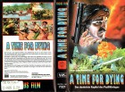 (VHS) A Time for Dying - Focus Video-Große Box mit Einleger