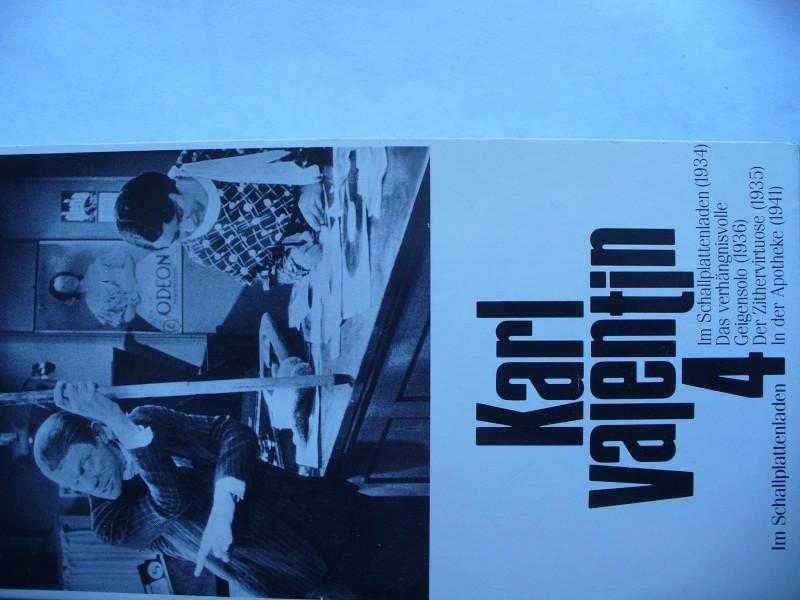 Karl Valentins Filmsketche ... 4  ....      VHS !!!