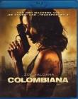 COLOMBIANA Blu-ray - Zoe Saldana Action Thriller