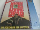 Laser disc Night of the living Dead