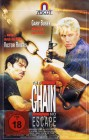 VHS-KASSETTE - The Chain - No Escape - Gary Busey