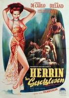 HERRIN DER GESETZLOSEN   Abenteuer  1952