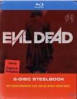 Evil Dead 2-Disc Blu Ray Müller-Steelbook uncut NEU