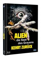 Alien Saat des Grauens kehrt zurück - DVD/BD Mediabook A OVP