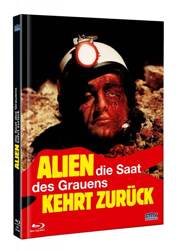 Alien Saat des Grauens kehrt zurück - DVD/BD Mediabook B OVP