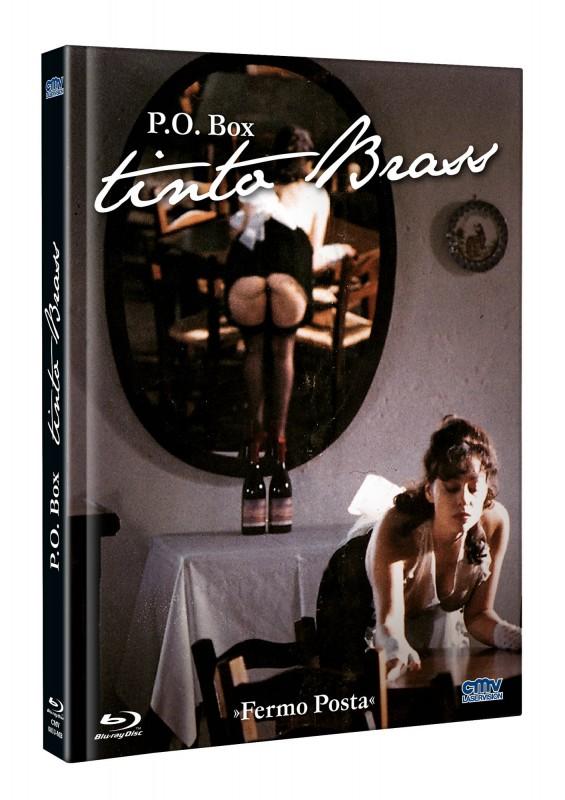 P.O. Box Tinto Brass - DVD/BD Mediabook B Lim 333 OVP