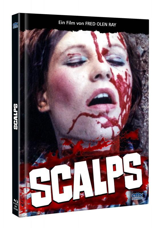 SCALPS - FLUCH DES BLUTIGEN.. - DVD/BD Mediabook B Lim OVP