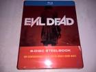 Evil Dead 2013 Uncut Blu-Ray Steelbook Müller neu
