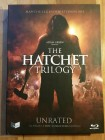 Hatchet Trilogy Blu-ray Mediabook oop selten