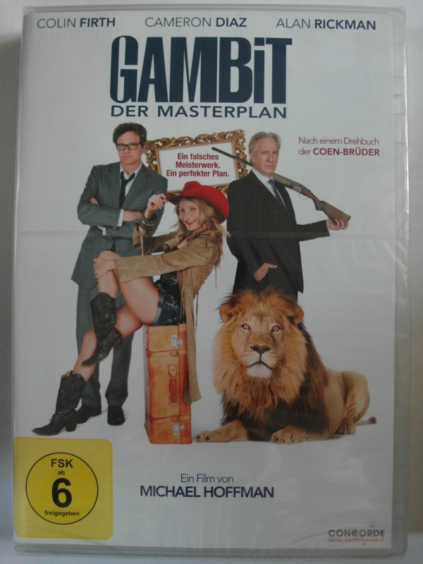 Gambit - Der Masterplan - Alan Rickman, Cameron Diaz, Coen