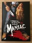 Maniac Blu Ray Mediabook von Illusions Unltd. Cover A