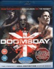 DOOMSDAY Blu-ray Import  - uncut SciFi Horror Thriller TOP!