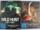 Wild hunt + Sacred Die Prophzeiung - Horror Sammlung Paket