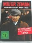Die Kriminalfälle des Major Zeman, 3 DVD - TV Serie Detektiv