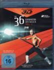 DIE 36 KAMMERN DER SHAOLIN Teil 1-3 Blu-ray 3D Asia Shaw Br.
