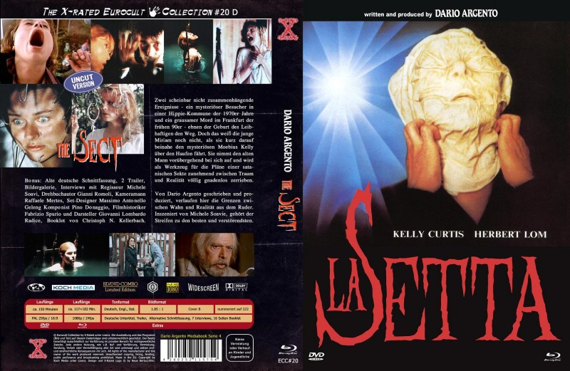 The Sect - DVD/BD Mediabook B Lim 222 OVP