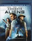 COWBOYS & ALIENS Blu-ray - Daniel Craig Harrison Ford SciFi