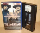 The James Gang VHS Rob Lowe Bill Paxton Top Western