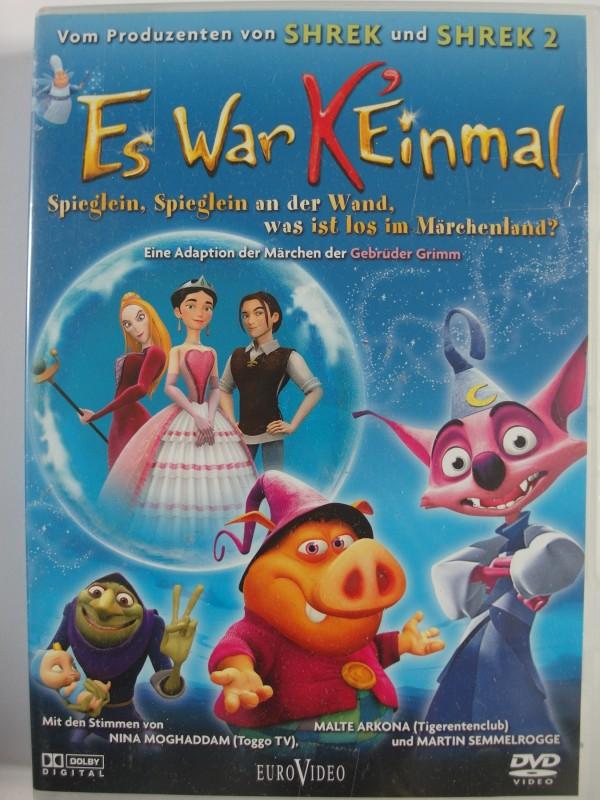 Es war keinmal - Märchen Trick Gebrüder Grimm, Cinderella
