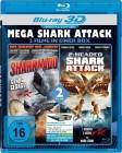 MEGA SHARK ATTACK: 3D+2D Blu Ray OVP